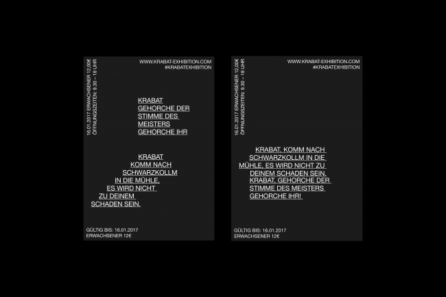 Krabat Exhibition